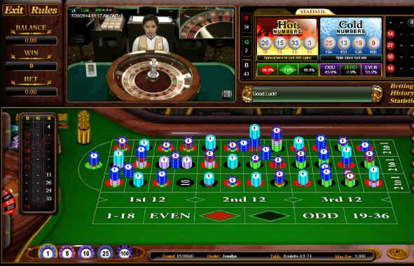 Live casino punya kelebihan di sbobet